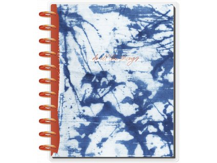 Diář 2021 2022 Happy Planner BIG Indigo