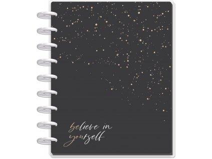 Motivační zápisník Happy Planner CLASSIC Girl With Goals