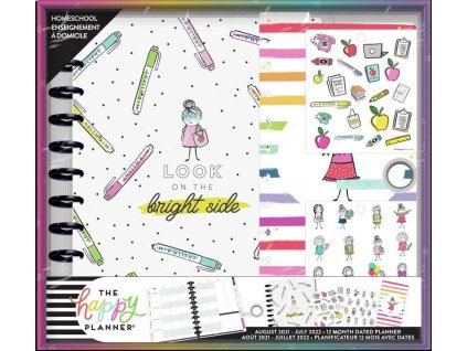 Diářový kit pro učitele Happy Planner BIG Bright Side
