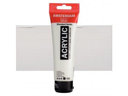 Akrylová barva Amsterdam 120 ml titanium white