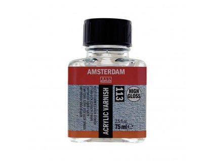 Finální lak na akrylové barvy Amsterdam vysoce LEKLÝ 75 ml