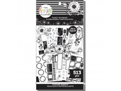 Samolepky Happy Planner Value Pack Fancy Blooms