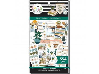 Samolepky Happy Planner Value Pack Plant Mama