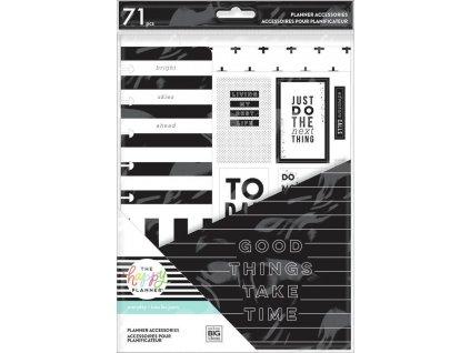 Rozšíření do diáře Happy Planner CLASSIC Black & White