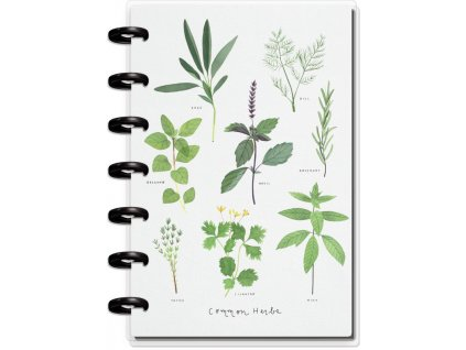Zápisník s doplňky Happy Notes MINI Plant & Garden