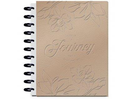 Zápisník Happy Memory Keeping BIG Life is a Journey