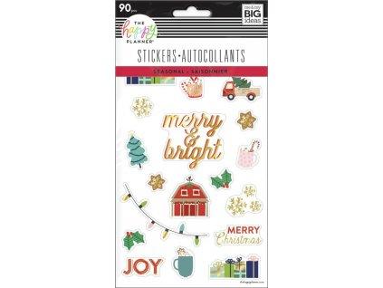 Samolepky Happy Planner Christmas
