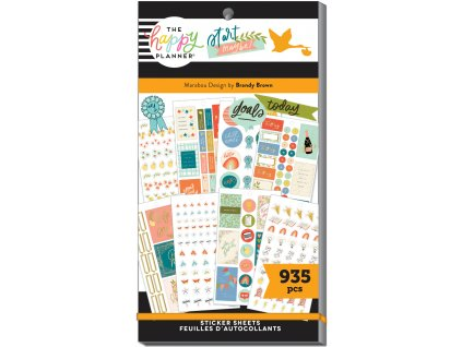 Samolepky Happy Planner Value Pack Life is Sweet