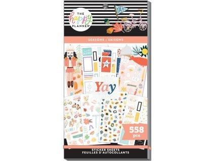 Samolepky Happy Planner Value Pack Happy Seasons