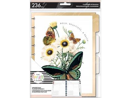 Nedatovaná náplň do diáře Happy Planner CLASSIC Papillon