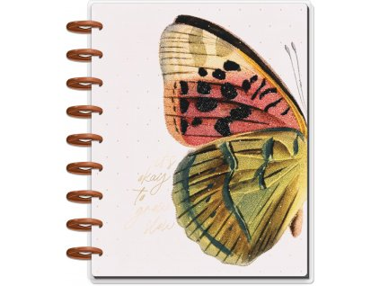 Nedatovaný diář Happy Planner CLASSIC Deluxe Papillon