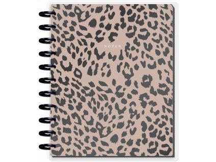 Zápisník Happy Notes BIG Neutral Jungle