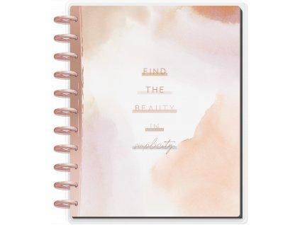 Zápisník Happy Notes BIG Find the Beauty
