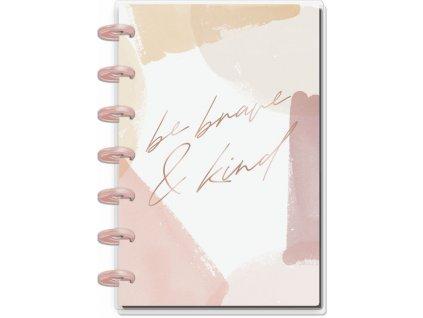 Zápisník Happy Notes MINI Brave & Kind