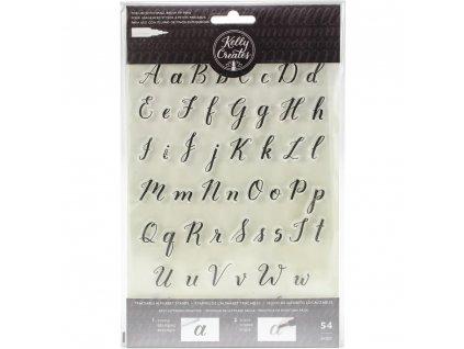 Silikonová razítka Kelly Creates - Alphabet