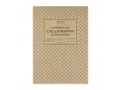 Kaligrafický blok Copperplate 6 4 6