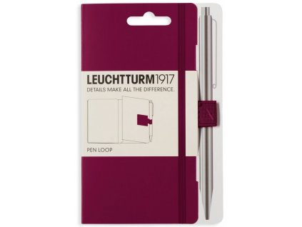Poutko na pero Leuchtturm1917 - Port Red