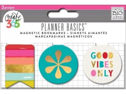 Magnetické záložky Happy Planner - Bright