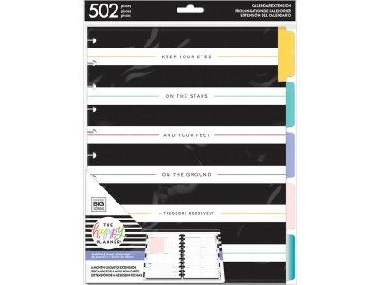 Nedatovaná náplň do diáře Happy Planner BIG - Dashboard Layout ll