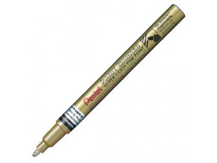 Lakový popisovač Pentel Paint Marker 2 mm, zlatá
