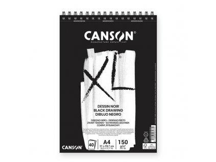 Skicák Canson Dessin Noir A4