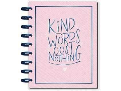 Motivační zápisník Happy Planner CLASSIC - Gratitude