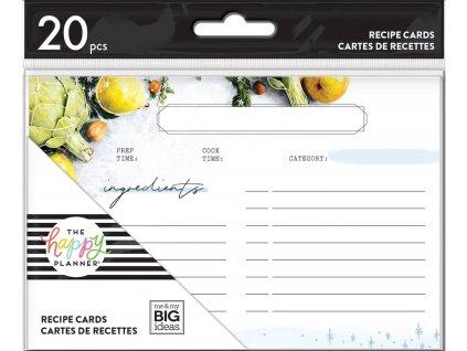 Kartičky na recepty Happy Planner