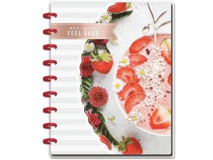 Zápisník Happy Notes CLASSIC - Recipe Foodie