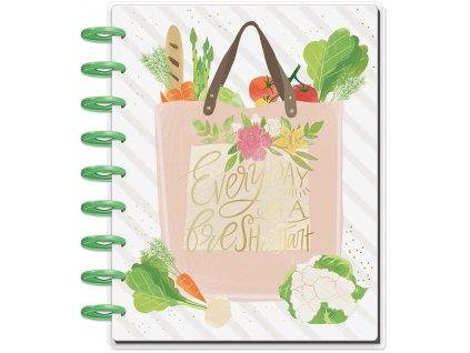 Zápisník na recepty Happy Planner CLASSIC - Foodie