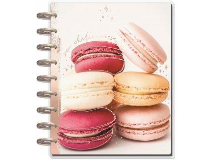 Zápisník na recepty Happy Planner CLASSIC - Bon Appetit