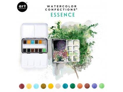 Akvarelové barvy Art Philosophy - Essence, sada 12 ks