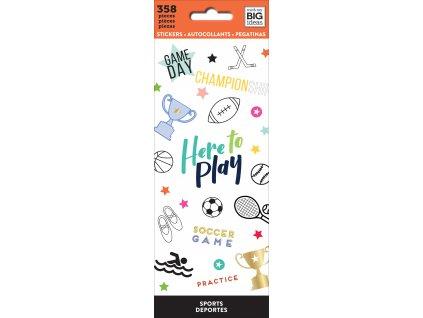 Samolepky Happy Planner Petite - Sport