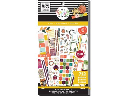 Samolepky Happy Planner Value Pack - Fall