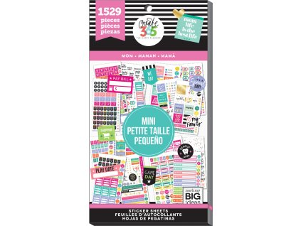 Samolepky Happy Planner MINI Value Pack - Mom Job