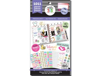 Samolepky Happy Planner Value Pack - Pregnancy