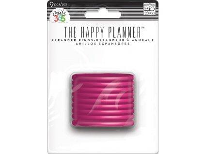 Spojovací disky do diáře Happy Planner 4,4 cm - Bright Pink