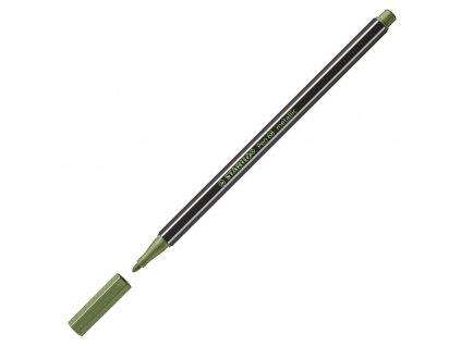 Metalický fix Stabilo Pen 68 - sv. zelená