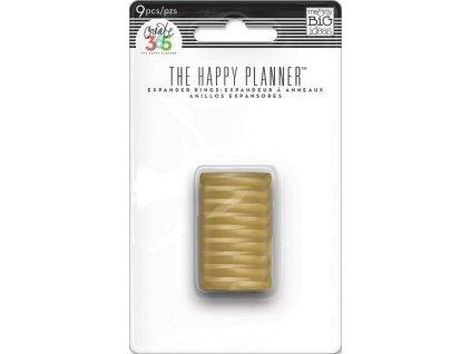 Spojovací disky do diáře Happy Planner 1,9 cm - Gold