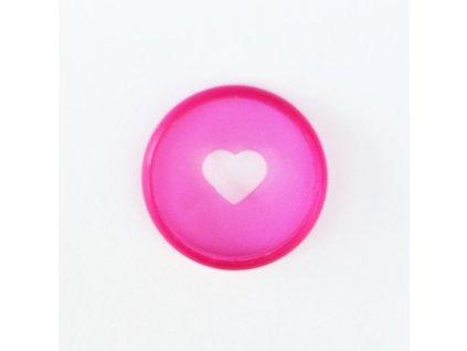 Spojovací disky do diáře Happy Planner 1,9 cm - Translucent Pink