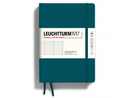 Zápisník Leuchtturm1917 A5 - Pacific Green