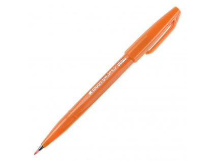 pentel brush Sign Pen oranžová