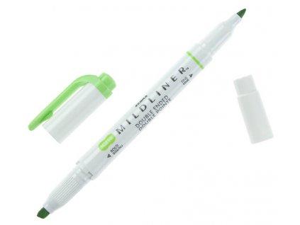 Zvýrazňovač zebra mildliner světle zelená