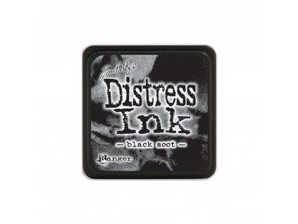 Razítkovací polštářek Distress Mini - Black Soot