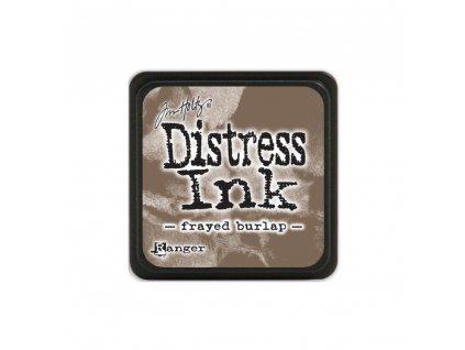 Razítkovací polštářek Distress Mini - Frayed Burlap