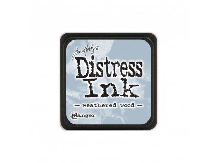 Razítkovací polštářek Distress Mini - Iced Spruce