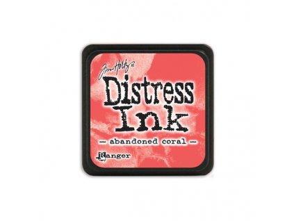 Razítkovací polštářek Distress Mini - Abandoned Coral