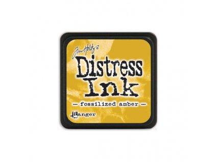 Razítkovací polštářek Distress Mini - Fossilized Amber