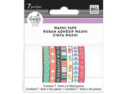 Washi pásky Happy Planner - Healthy Hero