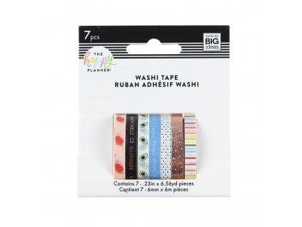 Washi pásky Happy Planner Recipe