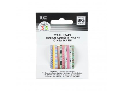 Washi pásky Happy Planner Pastel